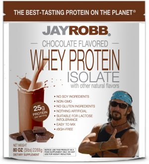 Whey Protein Isolate <br/> Chocolate – 80 oz
