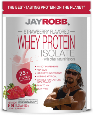 Whey Protein Isolate <br/> Strawberry – 24 oz