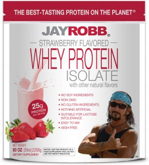 Whey Protein Isolate <br/> Strawberry – 80 oz
