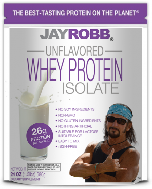 Whey Protein Isolate <br/> Unflavored – 24 oz