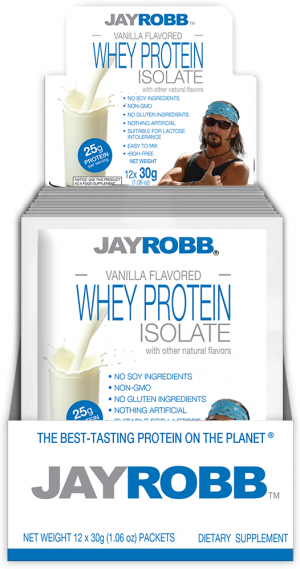 Whey Protein Isolate <br/> Vanilla – 12 Pack