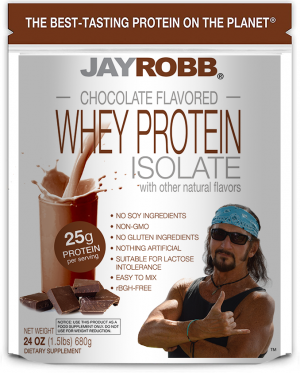 Whey Protein Isolate <br/> Chocolate – 24 oz