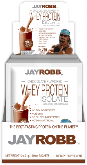 Whey Protein Isolate <br/> Chocolate – 12 Pack