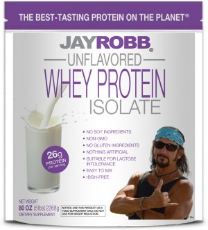Whey Protein Isolate <br/> Unflavored – 80 oz
