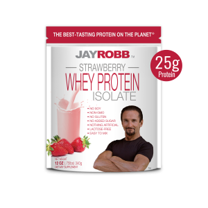 Whey Protein Isolate <br/> Strawberry – 12 oz