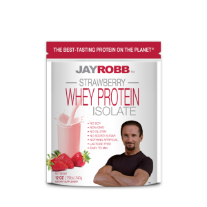 Whey Protein Isolate<br>Strawberry - 12 oz