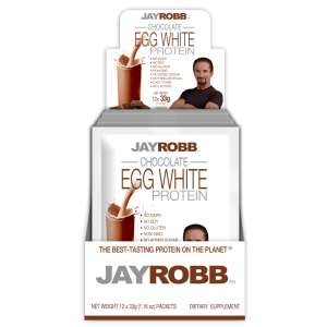Egg White Protein<br>Chocolate - 12 Pack